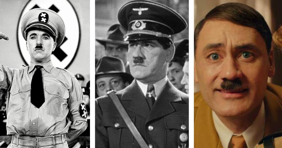 From left to right: the great dictator, to be or not to be, jojo rabbit